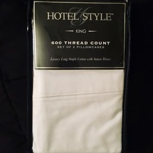 Accessories - High End Luxury King Size Pillowcase Set